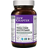 New Chapter Men's Multivitamin + Immune Support - Every Man's One Daily 40+, Fermented with Probiotics + Saw Palmetto + B Vitamins + Vitamin D3 + Organic Non-GMO Ingredients - 96 ct