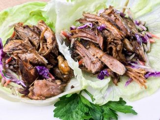 Slow Cooker Pulled Pork Lettuce Wraps Recipe