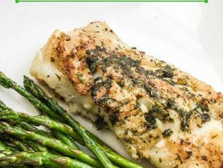 Atlantic Cod Fillet Recipe with Garlic-Herb Butter