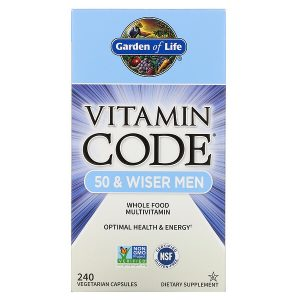 Garden of Life Multivitamin for Men - Vitamin Code 50
