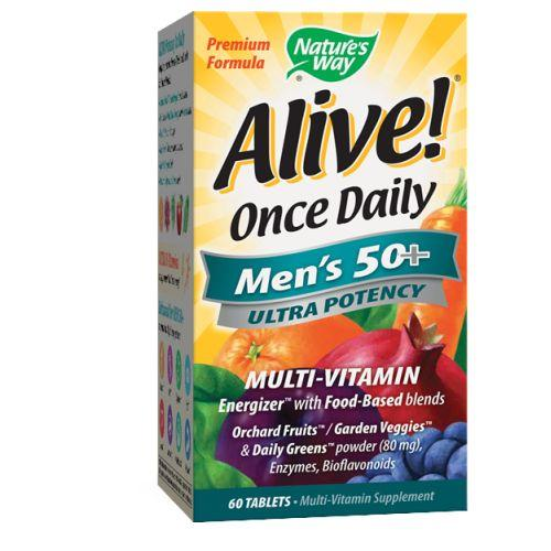 Nature's Way Alive Once Daily Men's 50+ Ultra Potency Tablet